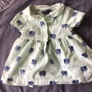 Baby gap dress and romper shorts